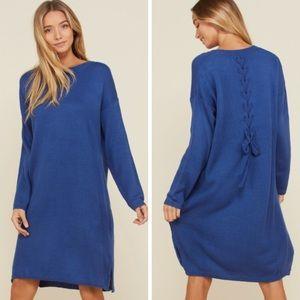 Dresses & Skirts - Blue Sweater Dress